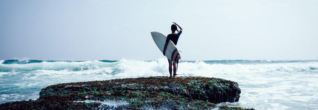 Bannière poncho surf